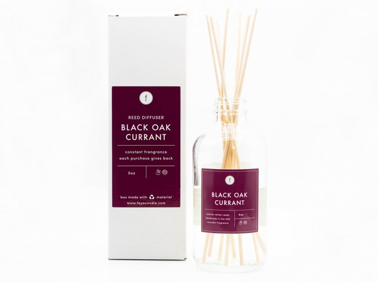Scented Reed Diffuser - 2-Pack by The Feya Co. - 9