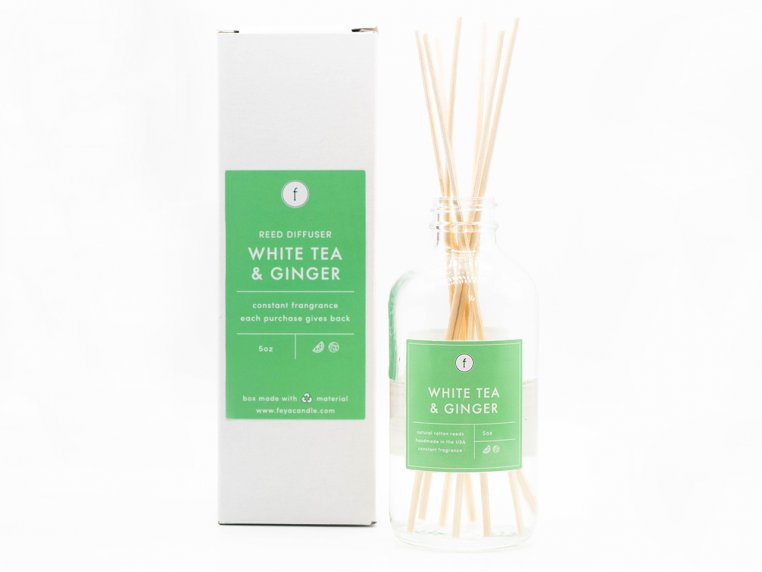 Scented Reed Diffuser - 2-Pack by The Feya Co. - 10