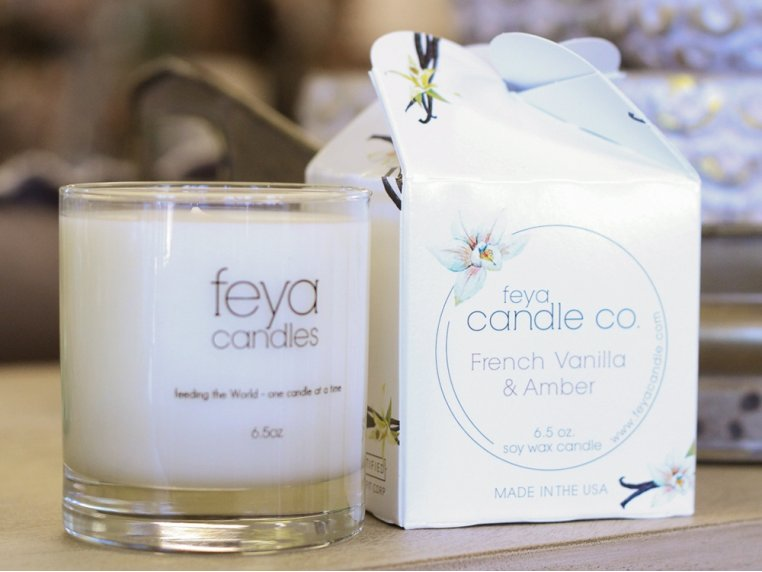 All-Natural Soy Wax Candle by Feya Candle Co. - 5