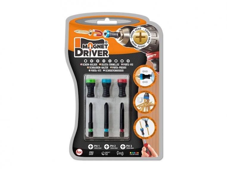 6 Piece Magnet Driver™ Set by Micaton - 5