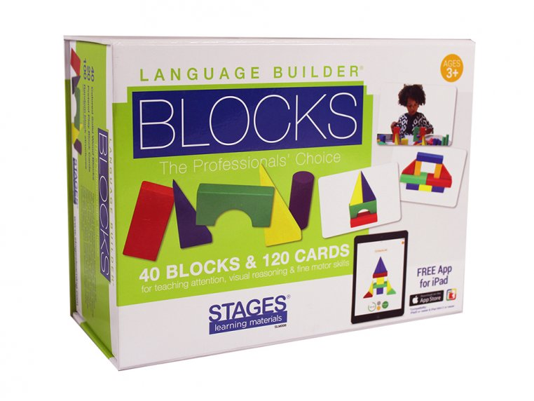 Language Builder iPad Blocks by Link4Fun - 5