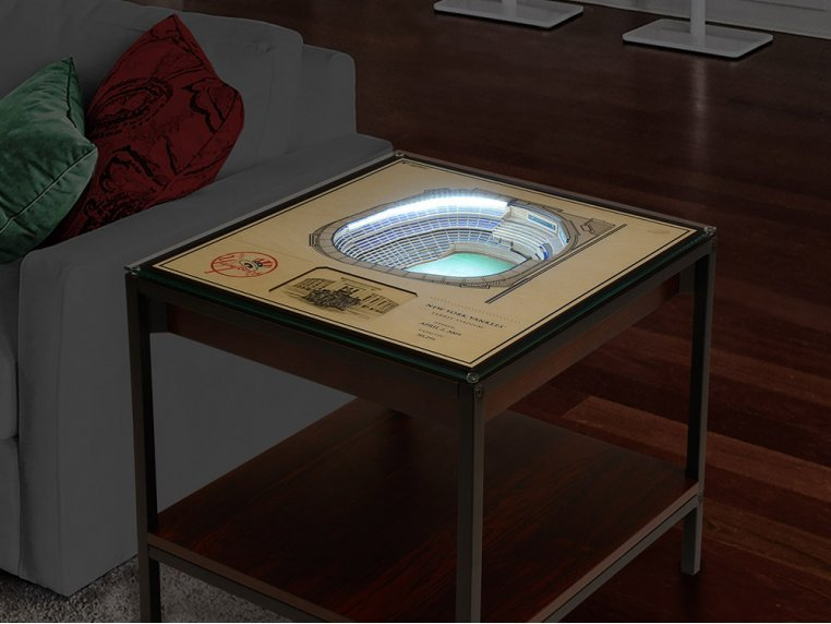 25-Layer Stadium Lighted End Table by StadiumViews - 3