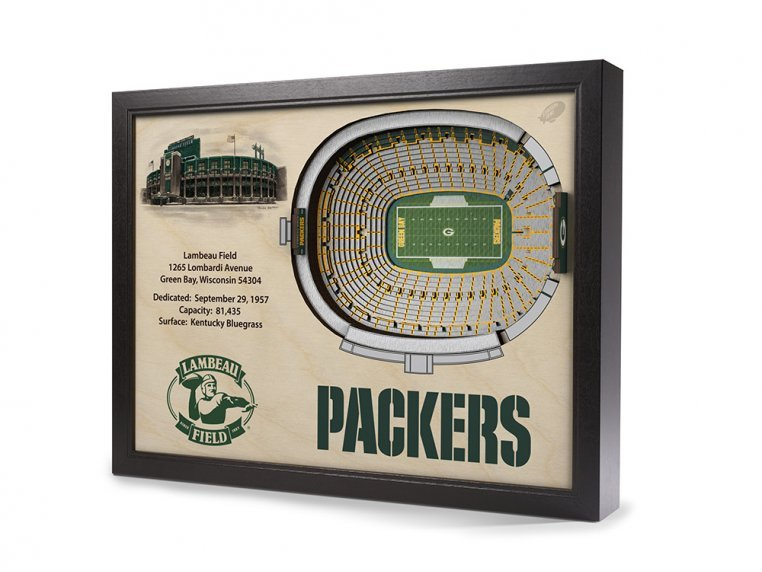 3D Stadium Wall Art by StadiumViews - 25