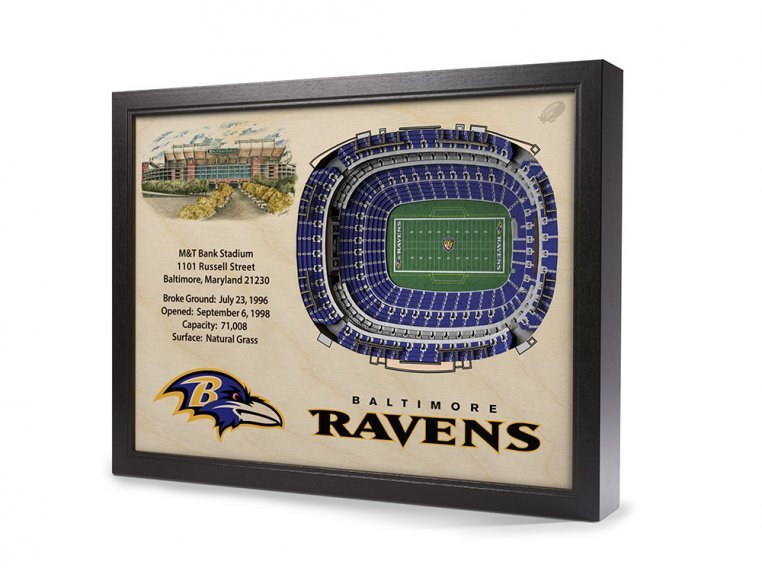 3D Stadium Wall Art by StadiumViews - 28