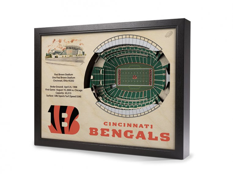 3D Stadium Wall Art by StadiumViews - 44