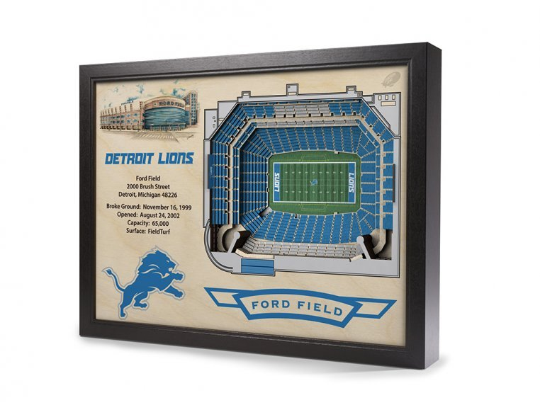 3D Stadium Wall Art by StadiumViews - 47