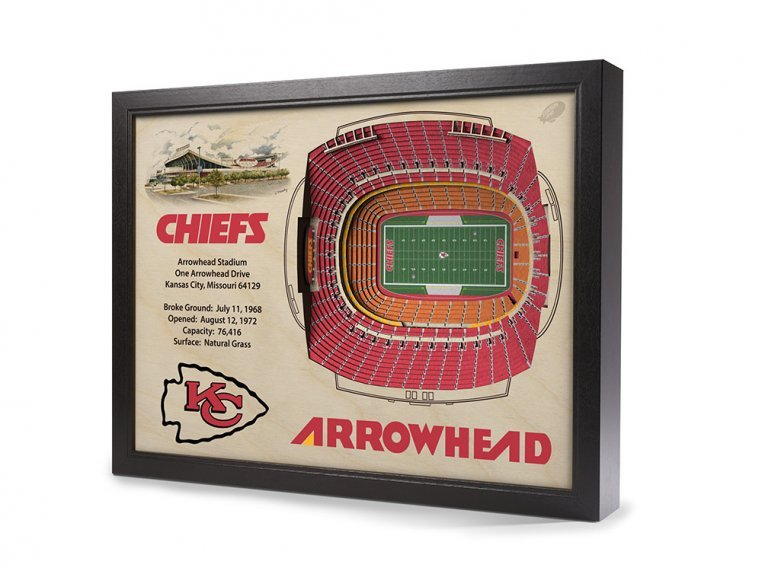 3D Stadium Wall Art by StadiumViews - 49