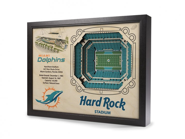 3D Stadium Wall Art by StadiumViews - 50