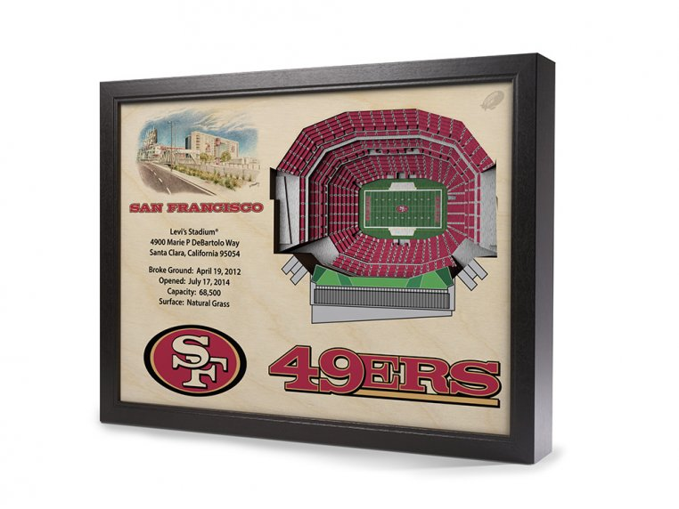 3D Stadium Wall Art by StadiumViews - 55