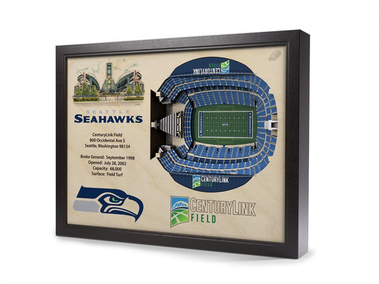 3D Stadium Wall Art by StadiumViews - 56