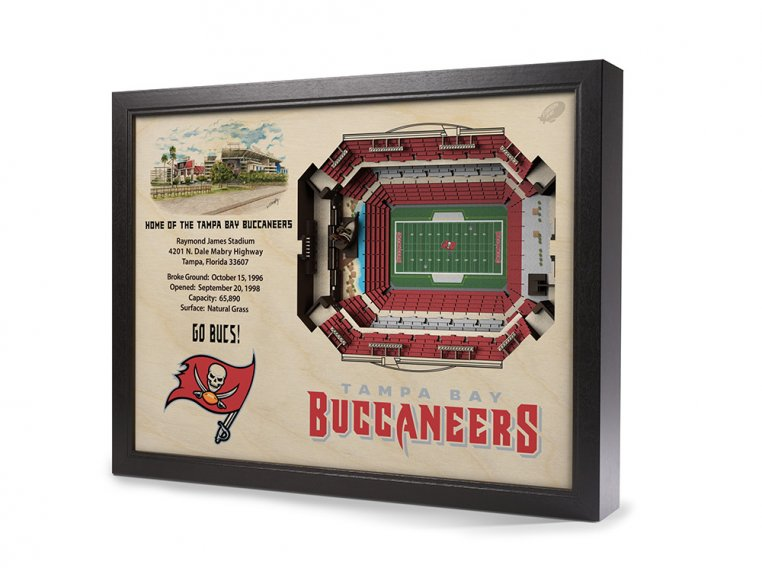 3D Stadium Wall Art by StadiumViews - 57