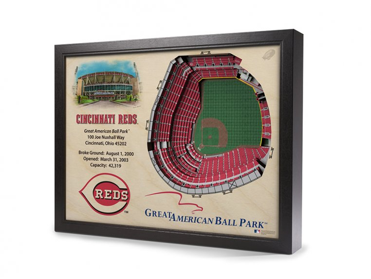 3D Stadium Wall Art by StadiumViews - 59