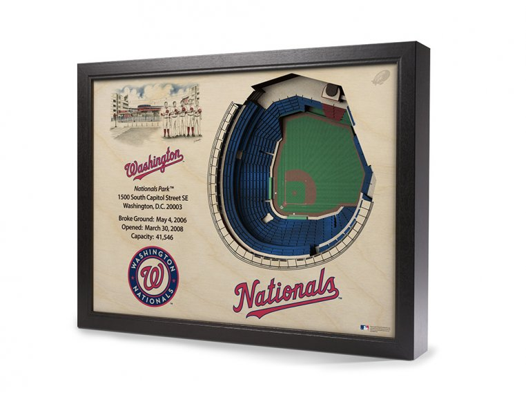 3D Stadium Wall Art by StadiumViews - 78
