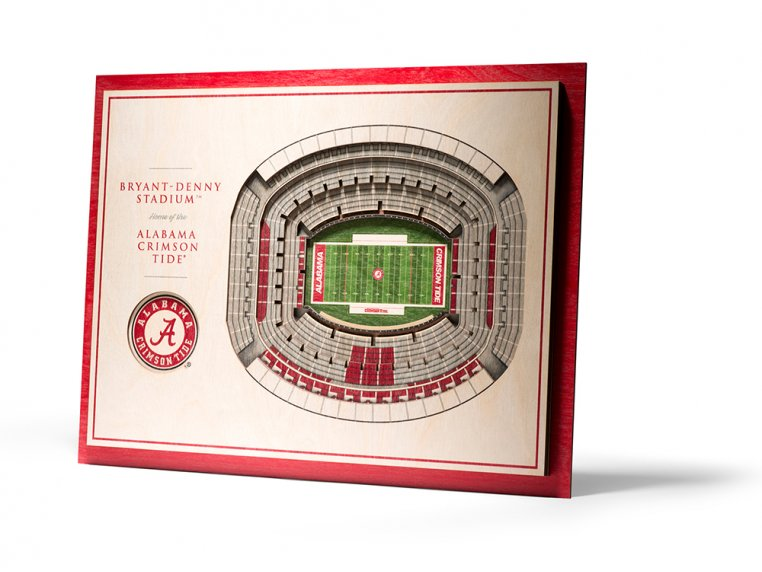 Wooden Five-Layer Stadium Wall Art by StadiumViews - 7