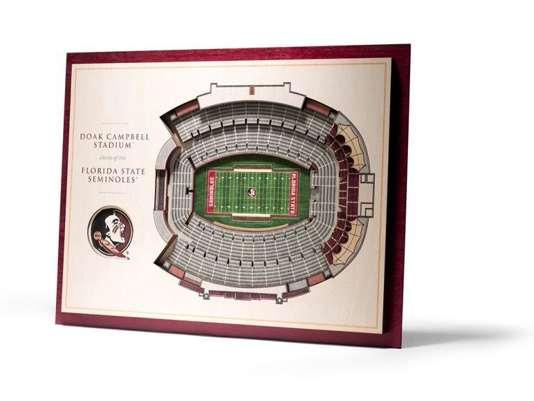Wooden Five-Layer Stadium Wall Art by StadiumViews - 14