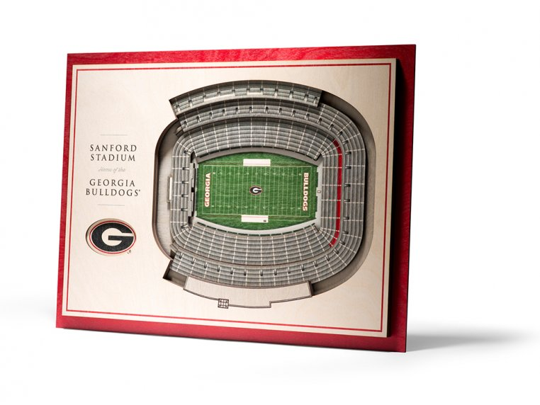 Wooden Five-Layer Stadium Wall Art by StadiumViews - 15