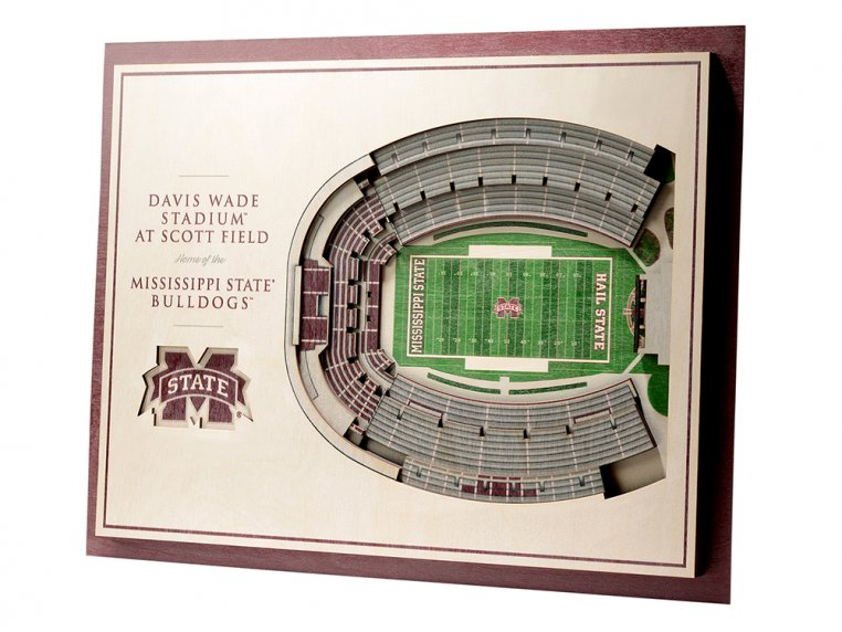 Wooden Five-Layer Stadium Wall Art by StadiumViews - 24