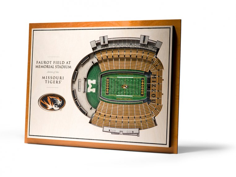 Wooden Five-Layer Stadium Wall Art by StadiumViews - 25