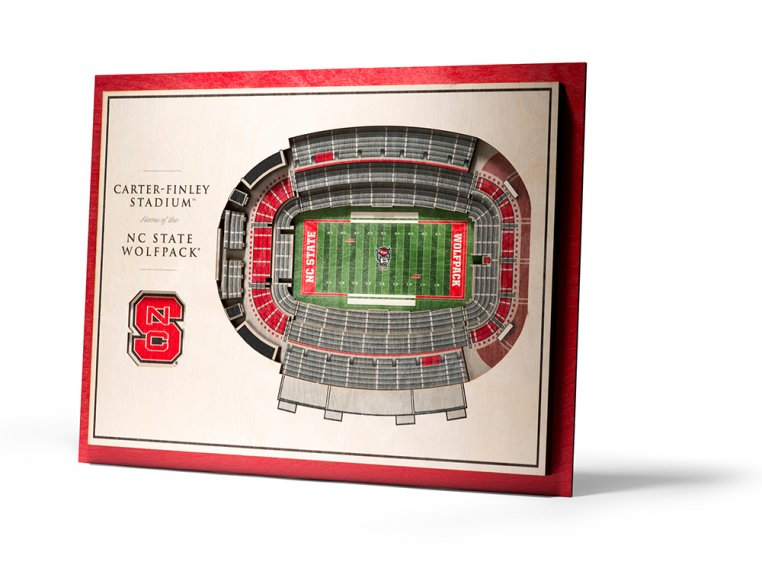 Wooden Five-Layer Stadium Wall Art by StadiumViews - 26
