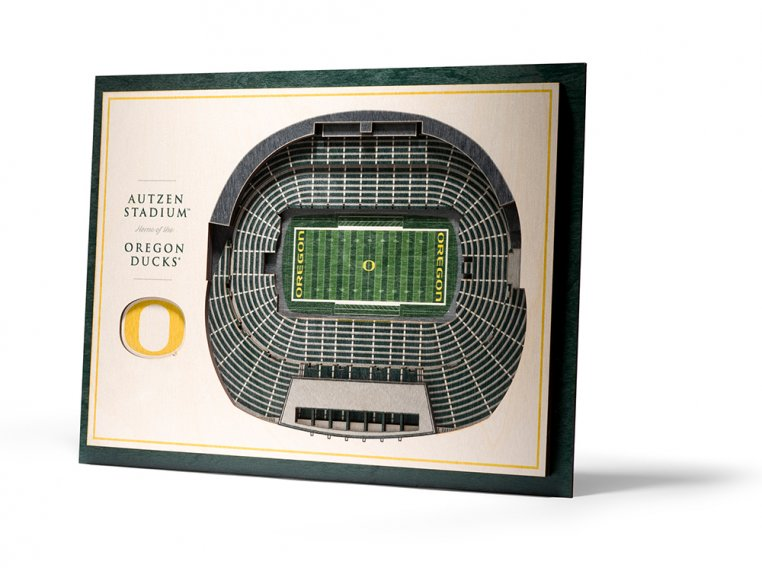 Wooden Five-Layer Stadium Wall Art by StadiumViews - 34