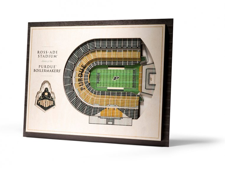Wooden Five-Layer Stadium Wall Art by StadiumViews - 38