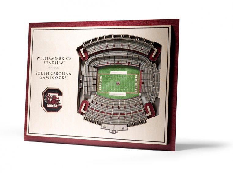 Wooden Five-Layer Stadium Wall Art by StadiumViews - 39
