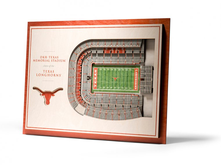 Wooden Five-Layer Stadium Wall Art by StadiumViews - 43