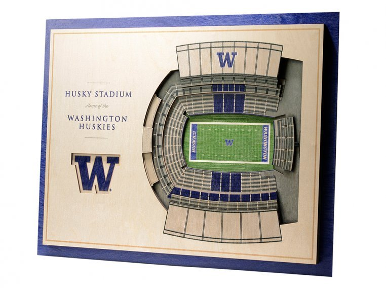 Wooden Five-Layer Stadium Wall Art by StadiumViews - 47