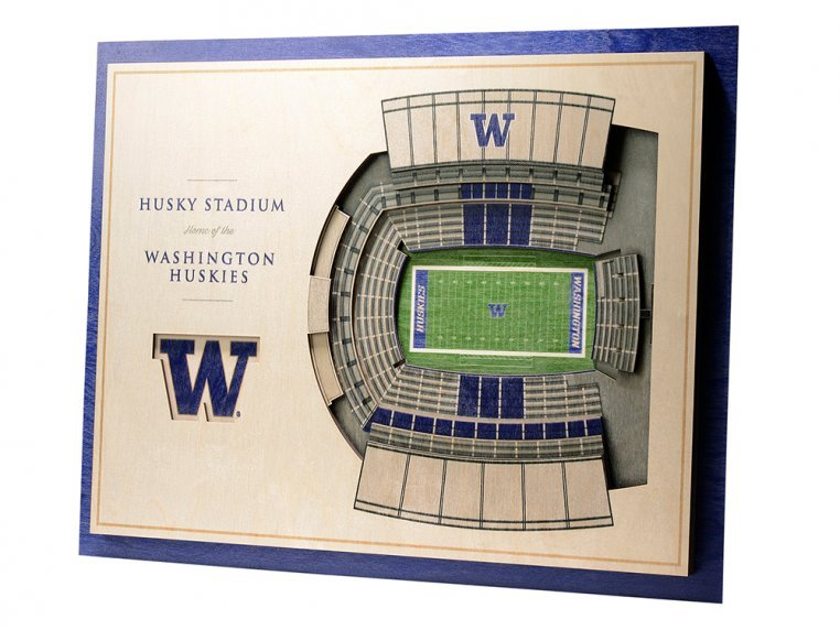 Wooden Five-Layer Stadium Wall Art by StadiumViews - 48