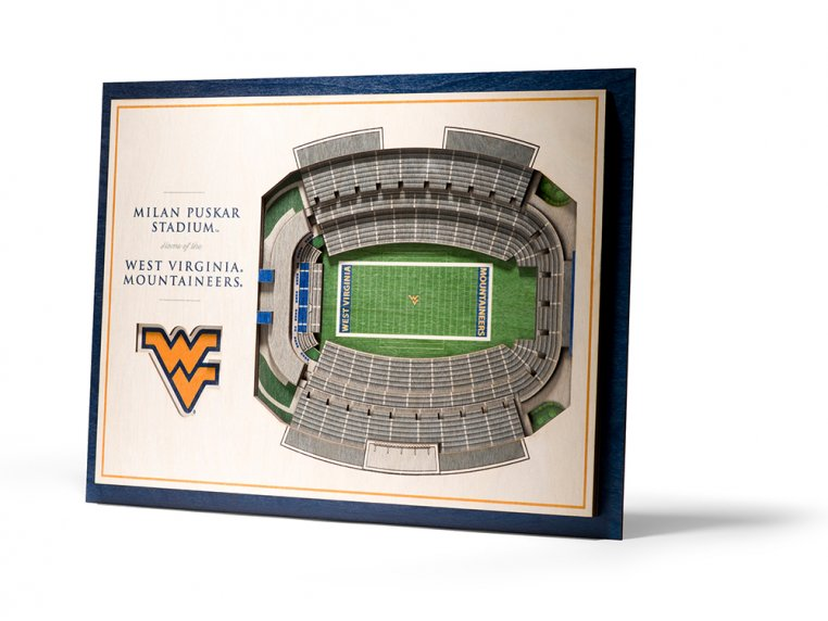 Wooden Five-Layer Stadium Wall Art by StadiumViews - 49