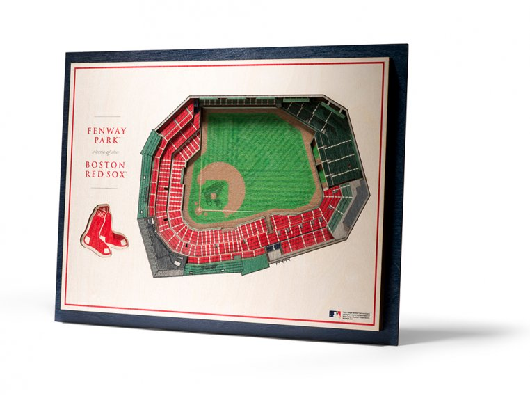 Wooden Five-Layer Stadium Wall Art by StadiumViews - 53