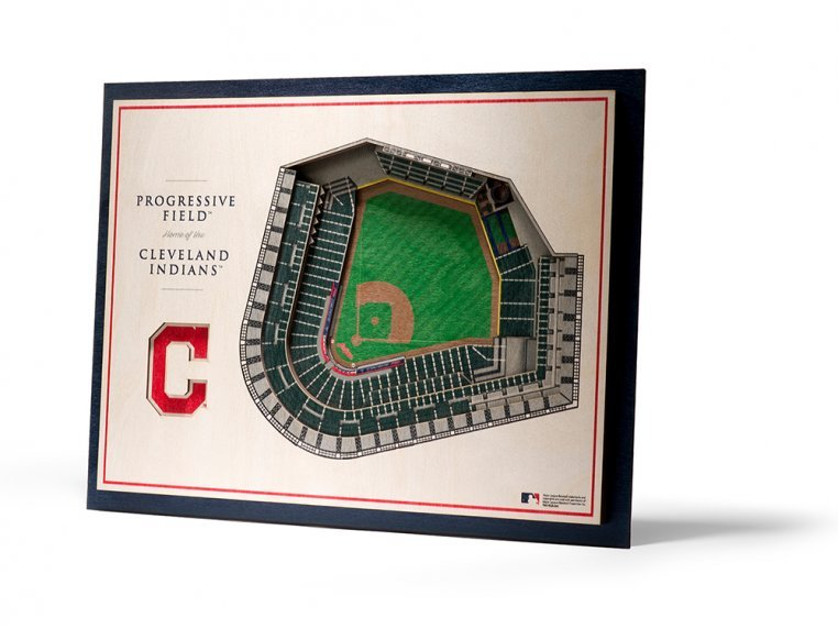 Wooden Five-Layer Stadium Wall Art by StadiumViews - 58