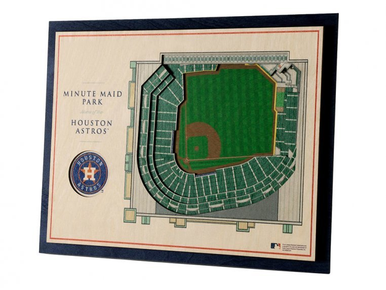 Wooden Five-Layer Stadium Wall Art by StadiumViews - 60