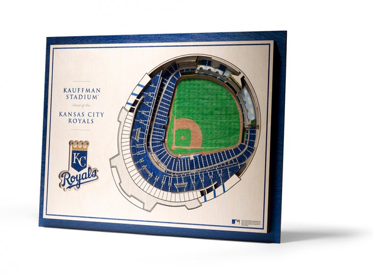 Wooden Five-Layer Stadium Wall Art by StadiumViews - 62