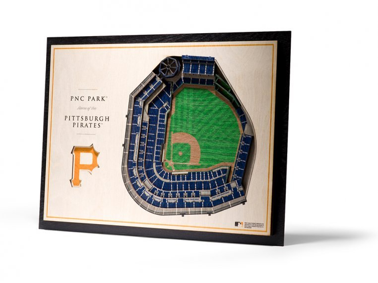 Wooden Five-Layer Stadium Wall Art by StadiumViews - 67