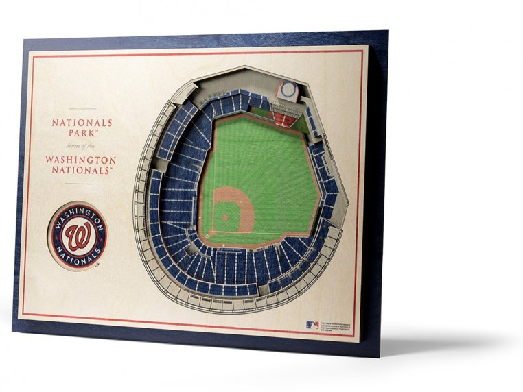Wooden Five-Layer Stadium Wall Art by StadiumViews - 70