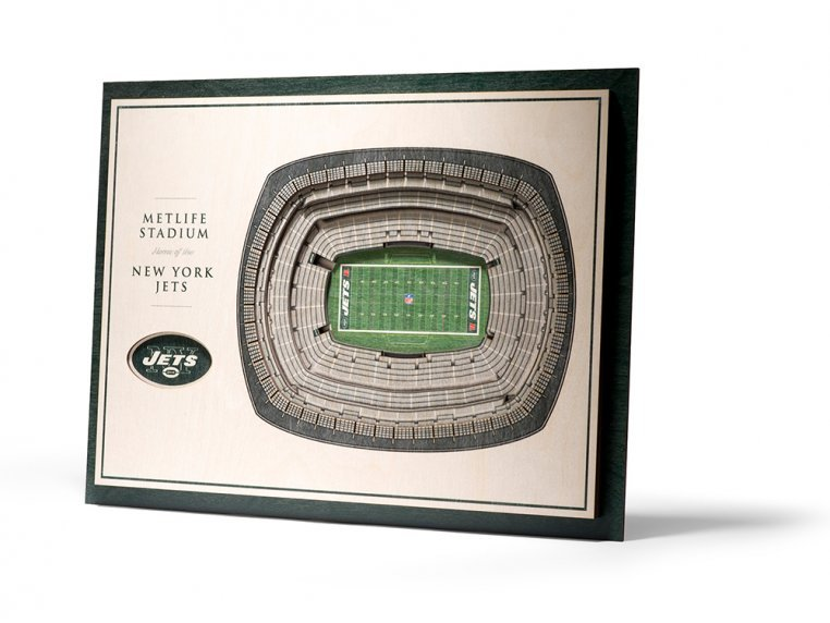 Wooden Five-Layer Stadium Wall Art by StadiumViews - 92