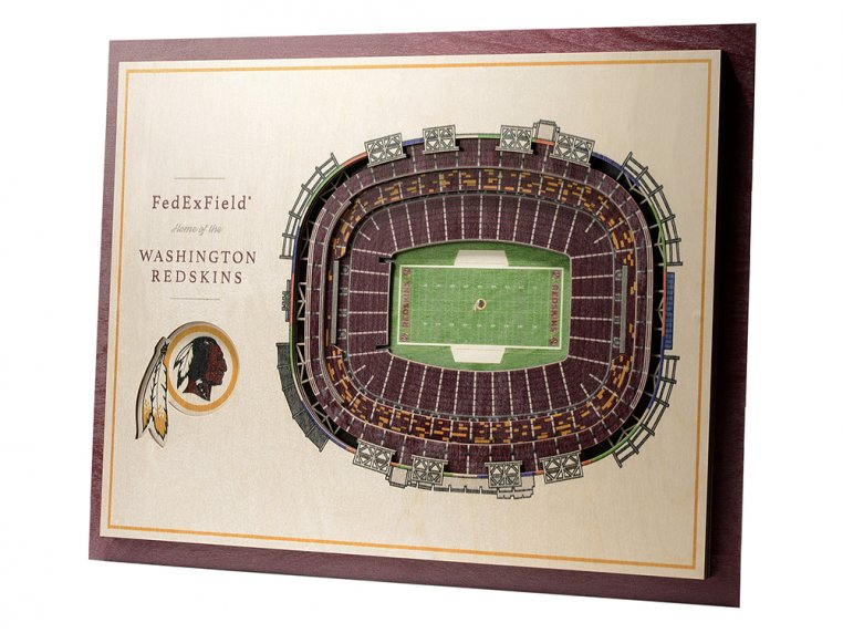 Wooden Five-Layer Stadium Wall Art by StadiumViews - 98