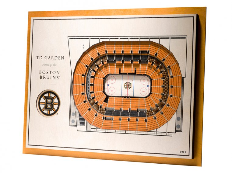 Wooden Five-Layer Stadium Wall Art by StadiumViews - 100