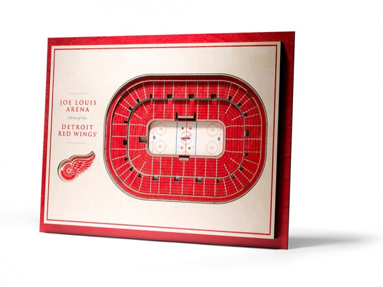 Wooden Five-Layer Stadium Wall Art by StadiumViews - 102