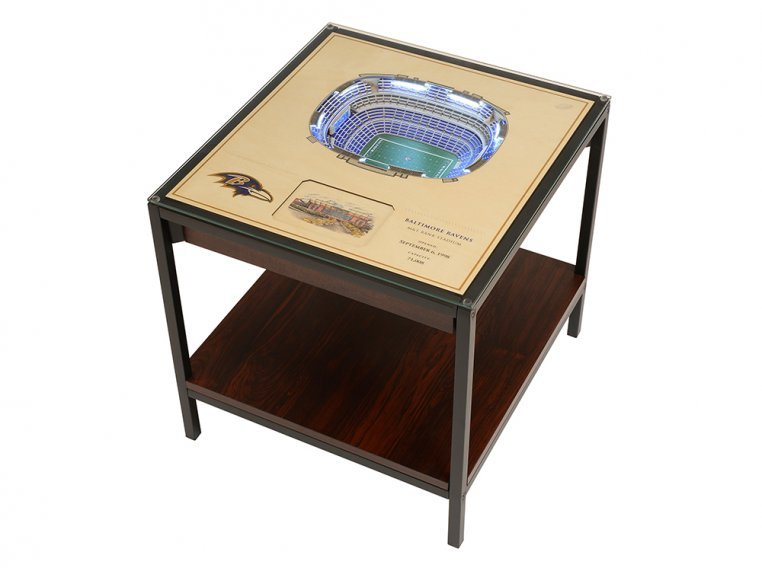 25-Layer Stadium Lighted End Table by StadiumViews - 35