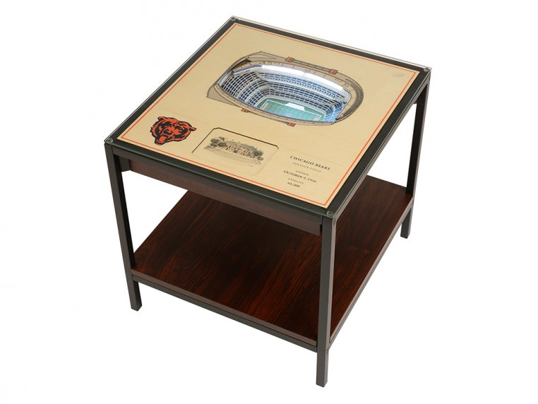 25-Layer Stadium Lighted End Table by StadiumViews - 36
