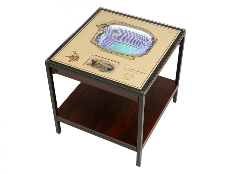 25-Layer Stadium Lighted End Table by StadiumViews - 41