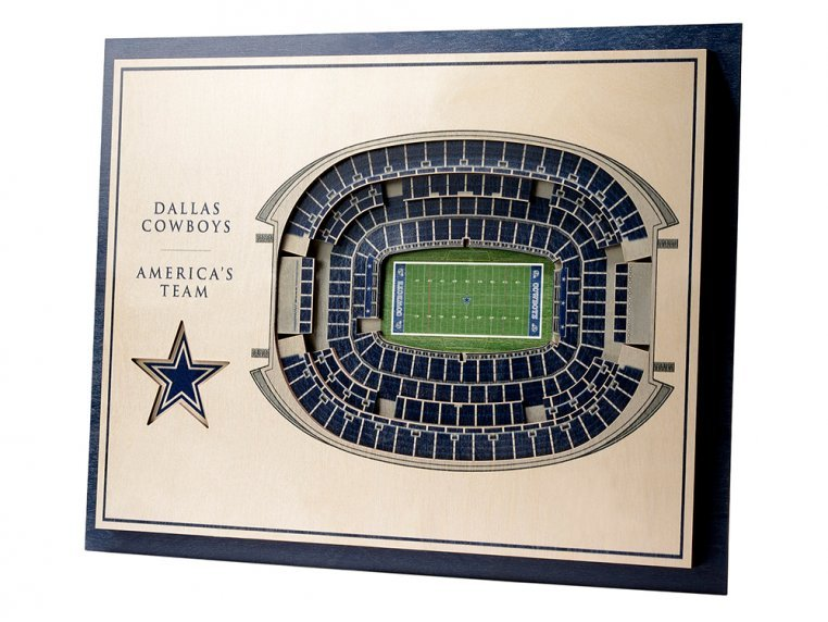 Wooden Five-Layer Stadium Wall Art by StadiumViews - 103