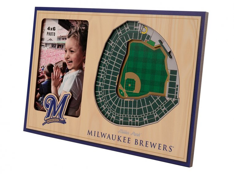 3D Stadium Picture Frame by StadiumViews - 36
