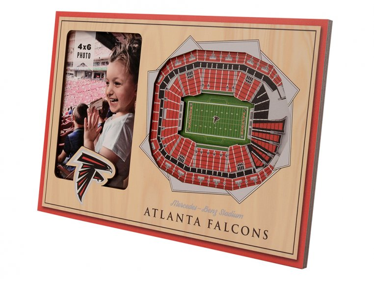 3D Stadium Picture Frame by StadiumViews - 43