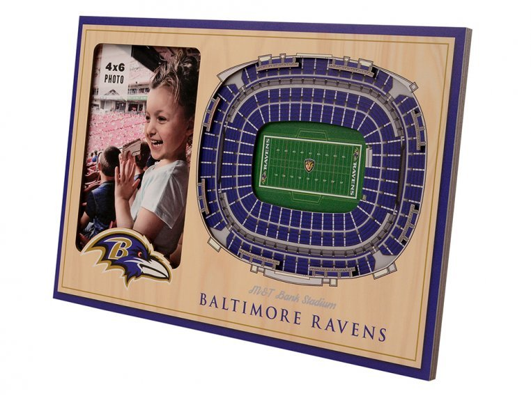 3D Stadium Picture Frame by StadiumViews - 44