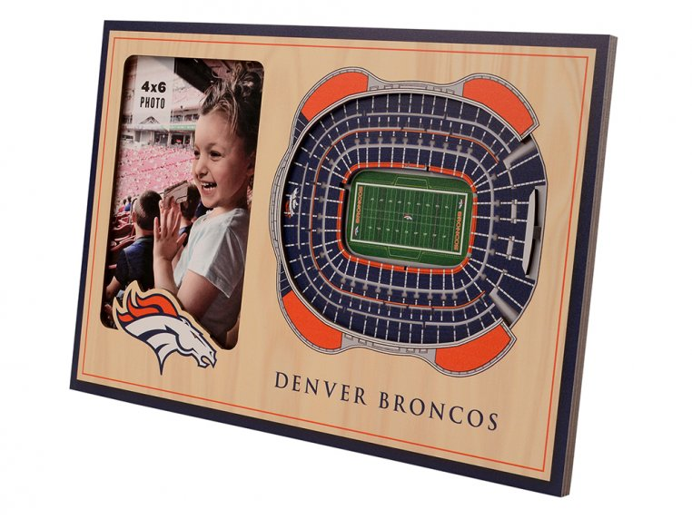 3D Stadium Picture Frame by StadiumViews - 50
