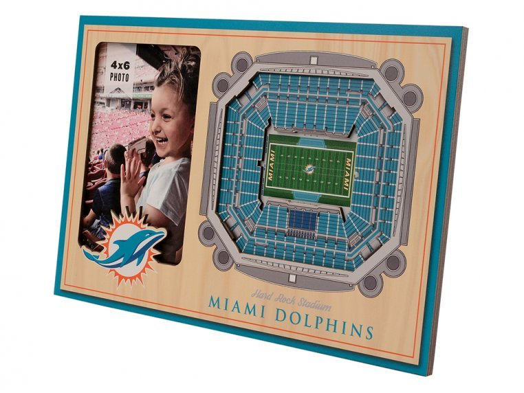 3D Stadium Picture Frame by StadiumViews - 56