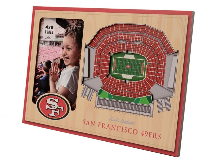 3D Stadium Picture Frame by StadiumViews - 64